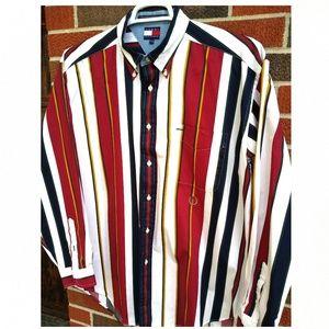 Tommy Hilfiger men's L button down shirt